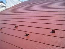 スレート瓦屋根塗装の下塗り